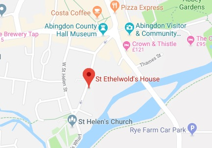 St Ethelwolds Map Global Retreat Centre
